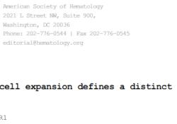 "<font color=""red"">Blood</font>:pDC-AML的特征及潜在治疗策略"