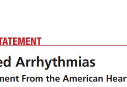 2020 AHA科学声明:药物性心律失常