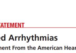 """2020 AHA科学声明:药物性<font color=""""red"""">心律</font><font color=""""red"""">失常</font>"""