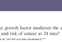 Br J Cancer:个子高,这些癌症风险也高!
