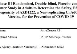 """阿斯利康公司完整版新冠病毒疫苗临床试验设计方案(免积分<font color=""""red"""">下载</font>)"""
