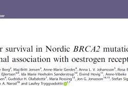 Br J Cancer:ER表达状态对BRCA2突变型乳腺癌预后的影响