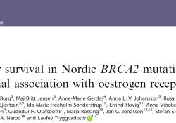 """Br J Cancer:ER表达状态对<font color=""""red"""">BRCA</font><font color=""""red"""">2</font>突变型乳腺癌预后的影响"""