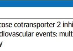 """BMJ:SGLT2抑制剂可降低II型糖尿病患者的<font color=""""red"""">心血</font><font color=""""red"""">管</font><font color=""""red"""">事</font><font color=""""red"""">件</font>风险"""