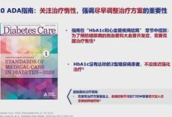 PUDF2020丨张俊清教授:从ADA新指南看Ⅱ型糖尿病综合优化管理