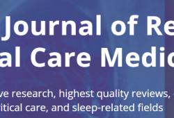 AJRCCM:肺动脉高压临床诊断及早期识别