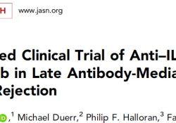 "J Am Soc Nephrol:抗IL-6<font color=""red"">抗体</font>clazakizumab对<font color=""red"">抗体</font>介导的排斥反应的有利作用"