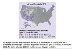 "BMJ:大麻药房零售<font color=""red"">合法</font>化或可降低美国阿片类药物相关死亡风险"