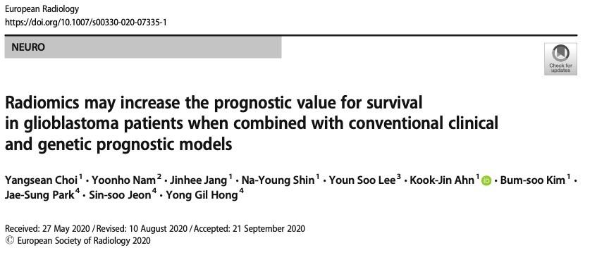 如何使用放射组学提高预测胶质母细胞瘤患者生存期?