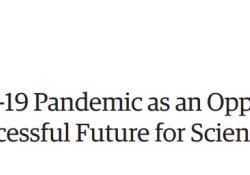 "JAMA:以新冠肺炎大流行为契机,确保科学和<font color=""red"">公共</font><font color=""red"">卫生</font>事业取得更大成功"
