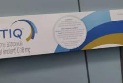 中国首个完全基于乐城真实世界研究数据申报NDA的新药OT-401(Yutiq)获NMPA受理