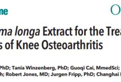 Ann Intern Med:莪术提取物治疗膝关节炎症状和积液性滑膜炎的效果