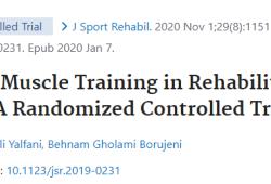 J Sport Rehabil:吸气肌训练可有效治疗慢性腰痛
