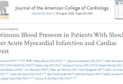 J Am Coll Cardiol:急性心肌梗塞和心脏骤停后休克患者的最佳血压值是多少?