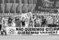 """""""不要美洲杯、要疫苗"""",巴西危矣,""""生物学上的福岛核事故""""正在巴西上演"""