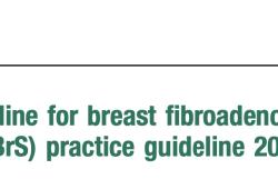 2021 CSBrS实践指南:超声引导下真空辅助乳腺活检(英文版)