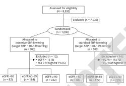 Neurology:卒中患者合并肾功能不全,强化降压治疗可能适得其反!(ATACH-2研究)