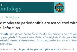 J Periodontol:牙周炎的嚴重程度與急性心肌梗死之間存在關聯