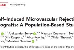 J Am Soc Nephrol:同种异体肾移植微血管排斥反应的缺失:一项基于人群的研究