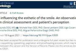 J clin periodontol: 影响微笑美感的因素