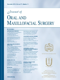 J ORAL MAXIL SURG