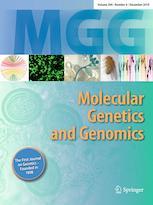MOL GENET GENOMICS