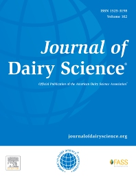 J DAIRY SCI