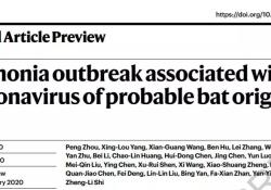 "Nature:首次<font color=""red"">发表</font>中国科学家新冠病毒研究论文"